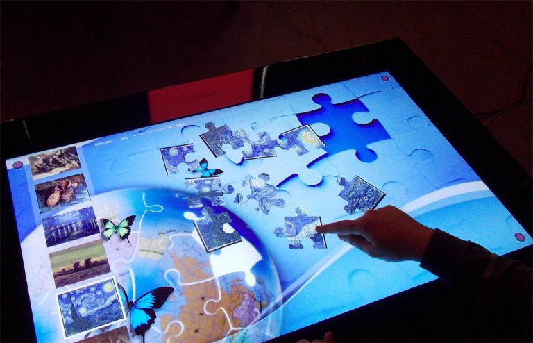 Interactive Art Table