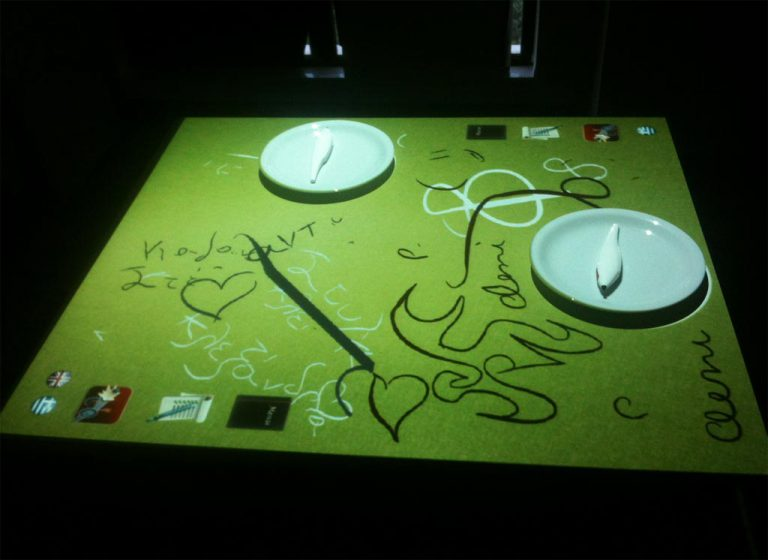 iEat: An interactive restaurant table