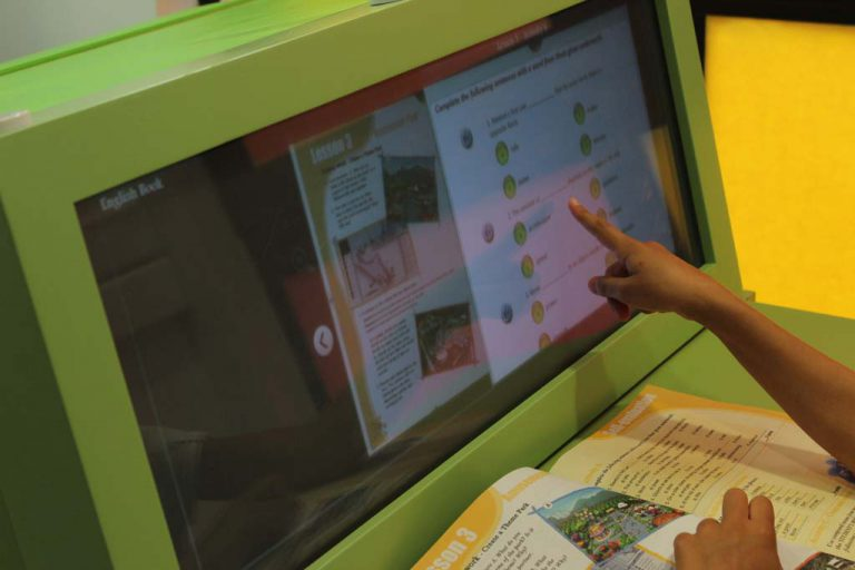 Augmented School Desk
