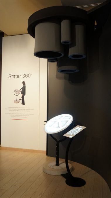 Installation in ALPHA BANK - CULTURE store, Athens