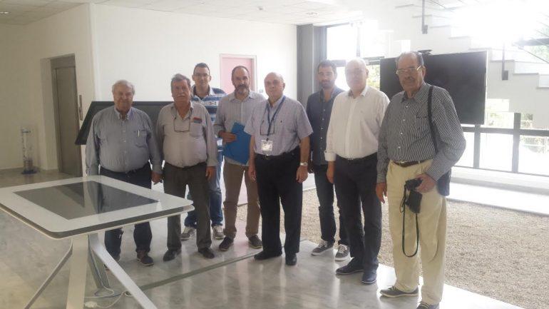 Ο Δήμος Βιάννου πραγματοποίησε επίσκεψη στο Εργαστήριο Διάχυτης Νοημοσύνης