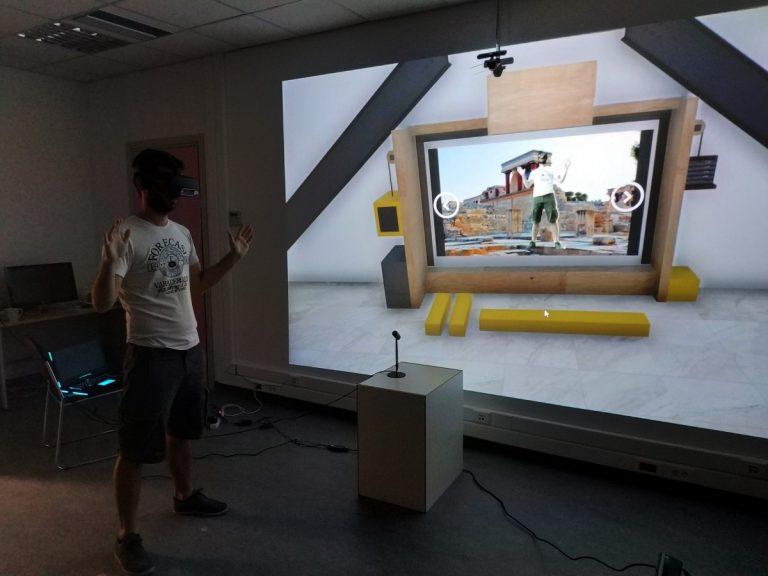 AmiSim - Facilitating a Virtual Reality Tour