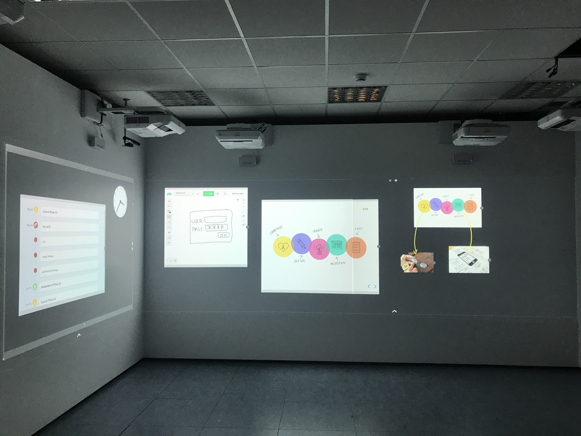 The Installation of the CognitOS Classboard